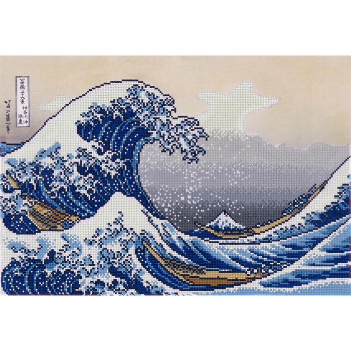Picture of A Big Wave off Kanagawa (Hokusai)